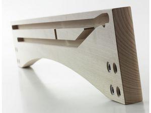 SPONDINA, Orilla de la mesa de madera extensible
