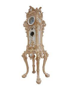 Reloj del abuelo art. 083, Reloj de pie, talladas a mano, para habitaciones de lujo