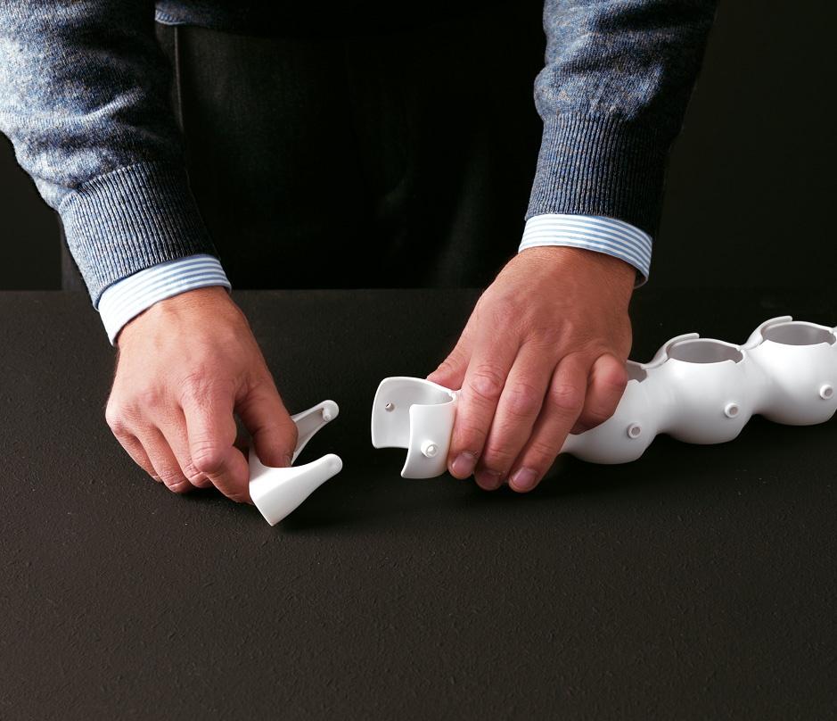 Biss, Arandelas originales en polímero para escritorios