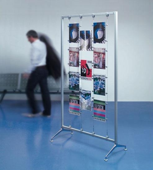 Koala-t/Archimede display, portafolletos de acrílico y expositores, para los bancos