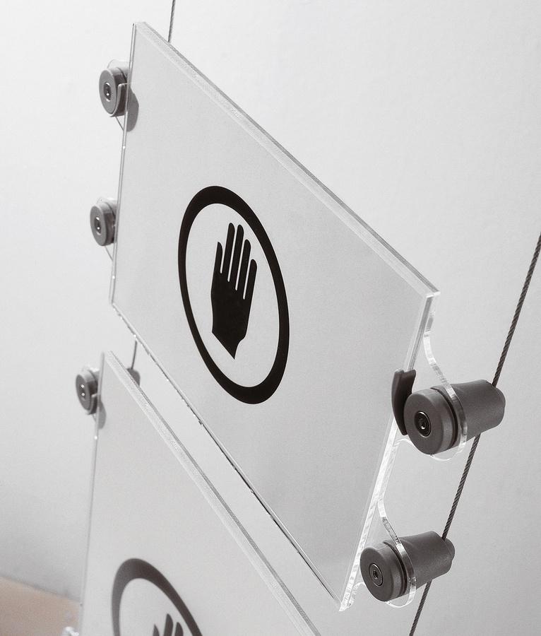 Koala-t cables, sistema de señalización en los cables, para la oficina