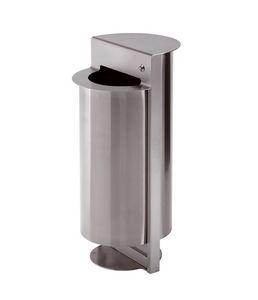 Torre, Cenicero de acero con soporte de la bolsa, para su uso fuera