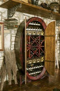 Art. 608, Armario de almacenamiento para botellas, con forma de barril