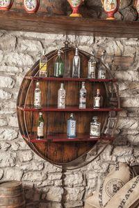 Art. 628, Mueble de pared, soporte de la botella, para bares y restaurantes