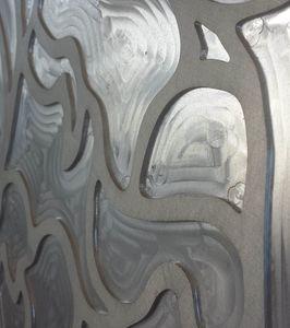 Panel decorativo a medida en aluminio realizado con fresado 3D, Paneles decorativos con fresado 3D
