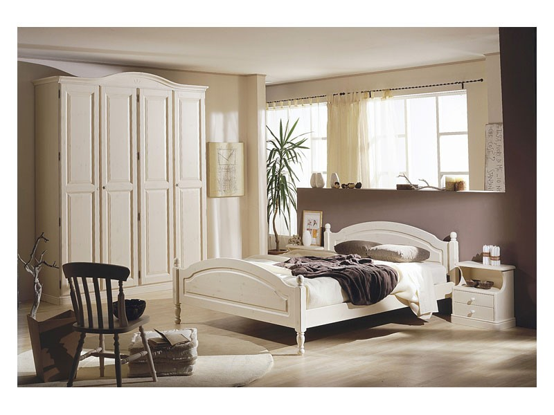 Collection Marta Bedroom, Muebles para habitaciones de hotel en pino macizo