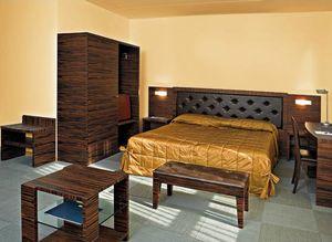 Collezione Class, Muebles de dormitorios a medida, madera de ébano, una habitación de hotel