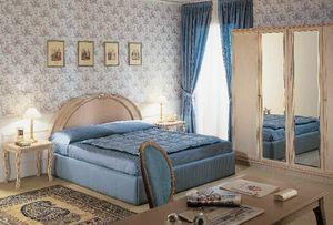 Collezione Opera, Muebles de la sala del hotel, de madera tallada a mano