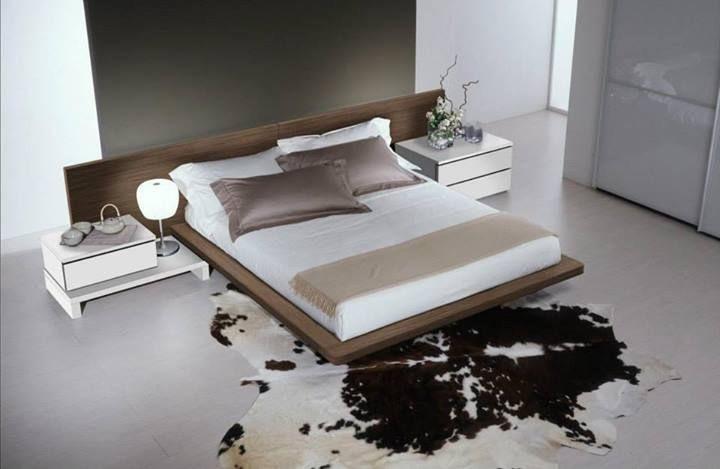 Dormitorio 14, Muebles de dormitorios, cama moderna con un gran cabecero