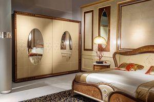 AR21 Arts dos puertas armario, Armario clásico adecuado para habitaciones de hotel de lujo