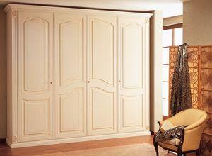 Art. 1100 Norma, Armario en madera, hechos a mano, para villas de lujo