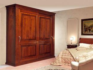 Art. 2004/952/2 2 doors, Armarios de lujo, puertas correderas con incrustaciones, por habitaciones clásicas