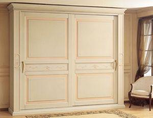 Art. 2004 Canova, Armario de lujo, con puertas correderas, para el dormitorio de estilo classica