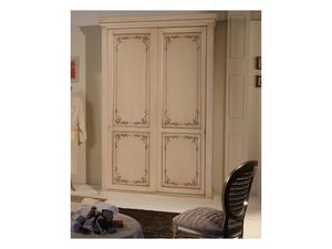 Art. 2013 Delyse, Armario con 2 puertas, decorado en madera de haya, de hotel