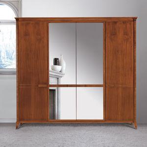 Art. 320 armario, Armario de estilo clásico, con espejo