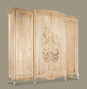 Art. 949, Armario para suites de lujo del hotel, 4 puertas, talladas a mano