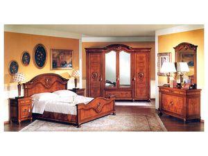 DUCALE DUCSP / Wardrobe with 4 doors, Armario de madera con puertas de espejo, para el dormitorio