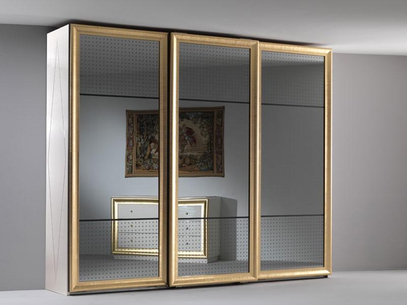 Jolie wardrobe, Vestuario elegante, tres reflejado puertas correderas, para el dormitorio