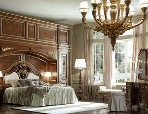 Luigi XVI Art. ARP03/L/440, Armario Bridge para habitaciones de estilo clásico.