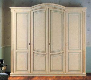 Nettuno armario, Armario de estilo clásico y lujoso, para el hotel y el hogar