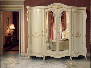 Opera armario, Armario de estilo cl�sico con espejo