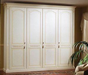 Pictor armario, Decorado armario de madera, para el dormitorio
