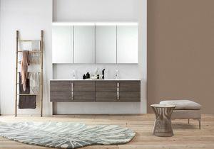 Byte 2.0 comp.08, Mueble de baño con doble lavabo