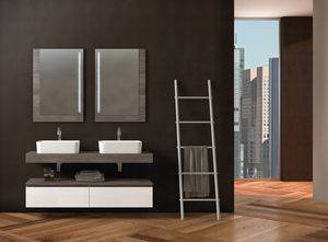COMPONIBILE 04, Mueble bajo lavabo modular doble