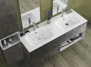 Torana TR 022, Mueble de ba�o con dos lavabos