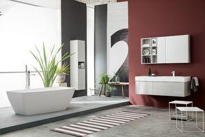 Kami comp.21, Mueble de baño modular en estilo moderno