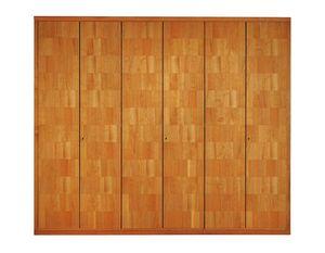 '900 0362, Armario de madera con chapa fina