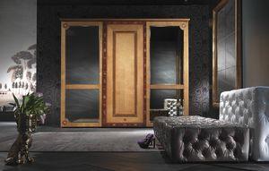 AR15 Sissy, Armario clásico con puertas de espejo