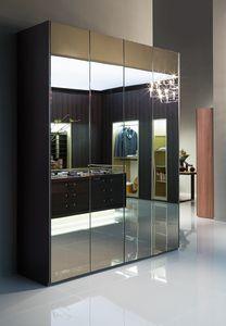 ATLANTE SEVENTY comp.03, Armario con puertas de espejo, en varios tamaños