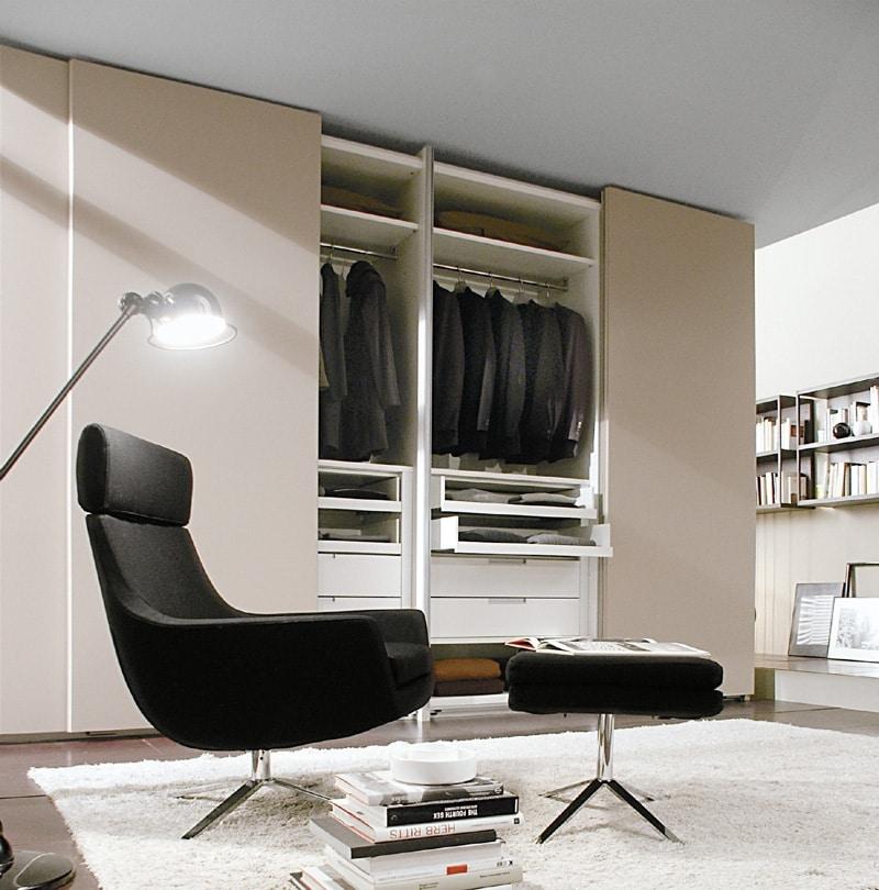 ATLANTE SHEER comp.01, Gabinetes modulares en diferentes dimensiones y acabados