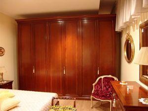 Chery, 6 puertas de los armarios en madera de cerezo, para los dormitorios