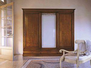 Fenice armario, Armario de estilo clásico con puertas correderas