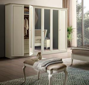 Giotto armario, Armario con puertas espejadas
