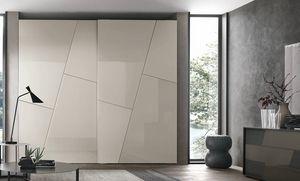 Kross, Armario con puertas de decoraci�n geom�trica