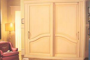 Layert, Armario con puertas correderas para los hoteles de lujo