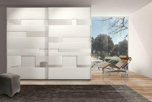 MISS GRAFF, Armario moderno con puertas correderas para hoteles