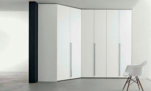 Armario vestidor, Armario de esquina modular