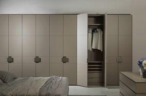 ATLANTE CHARME comp.02, Elegante armario modular