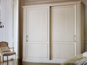 Clea, Armario clásico con puertas corredizas