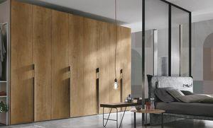 Liscia, Armario de madera, puertas batientes