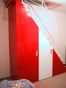 Sub-escalera a medida armario, Armario debajo de las escaleras, hecho a medida