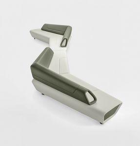 Kaleido, Sistema modular de asientos, acolchados, para salas de espera