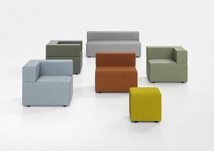 Kuadra, Banco acolchado para zonas de espera y las estaciones modernas