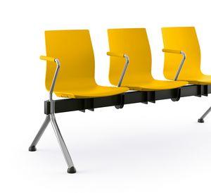 Q3, Bancos en viga, con divisor de asiento opcional