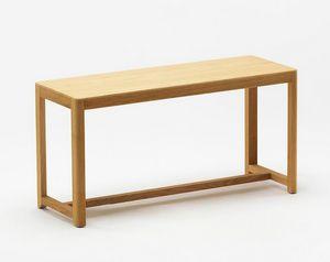 Seleri bench, Banco de madera con un diseño minimalista