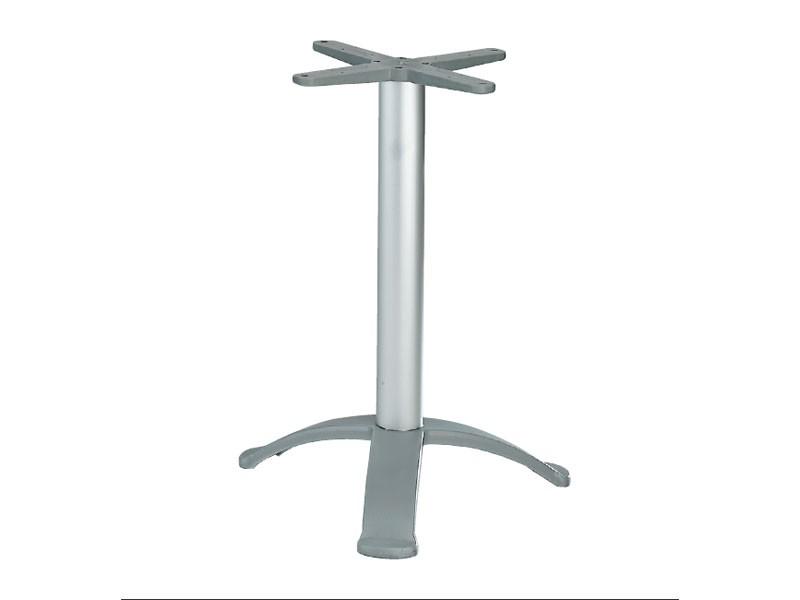 3 ped base cod. BG3K, Base de mesa con 3 pies de aluminio
